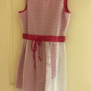 Beautiful summer dress with shorts for a girl